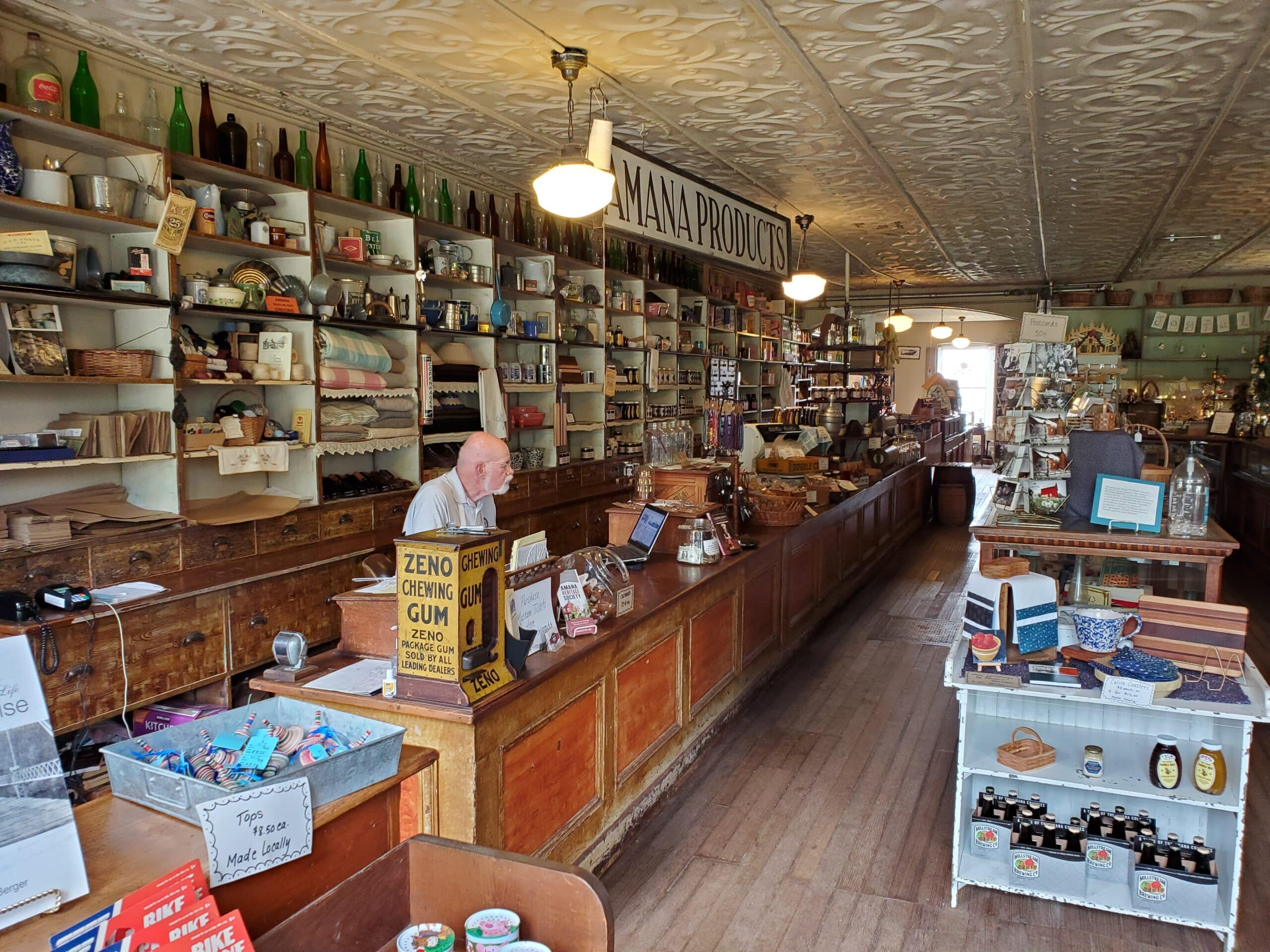 Inside High Amana  Store