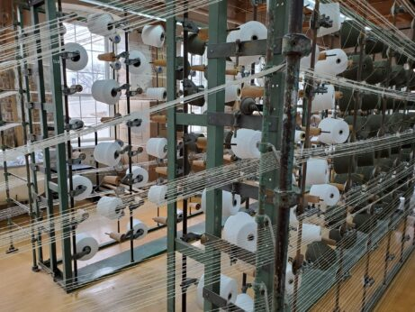 woolen mill creel