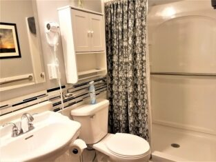 Room 16 with walk in shower