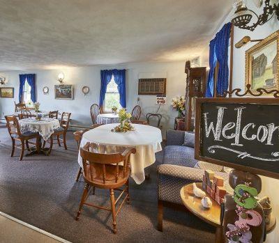 breakfast room at Die Heimat