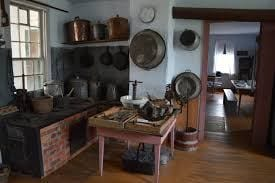 Old-timey kitchen with old kitchenware